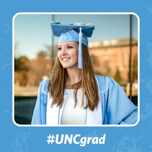 #UNCgrad Facebook frame